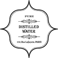 Aqua Distillata or Distilled water